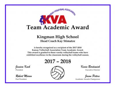 KVA Academic All State