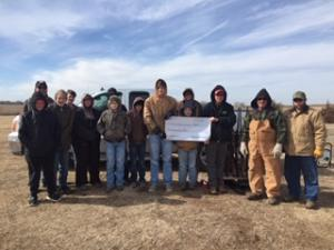 $500 donation from NWTF