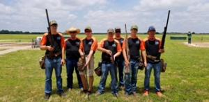 Noah, Carter, Derrick, Clay and Aaron at the State HS Trapshoot, Great Job Coaches Paul Smith and Chris Ingersol