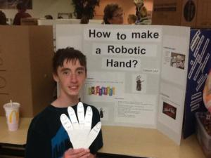 Canyon Lord - How to make a robotic hand?