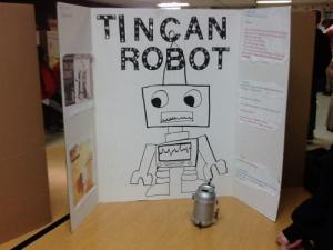 Katiera Beardsley- How does a tin can robot work.
