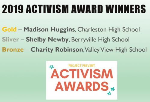 2019 ACTIVISM AWARD WINNERS