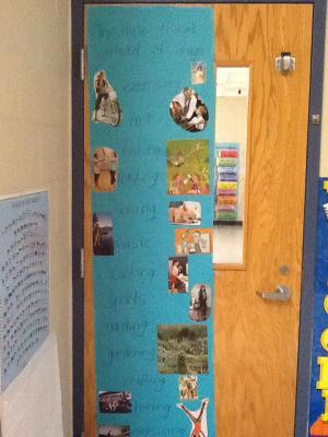 Mrs. Norris' door