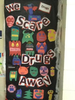 Mrs. Eddings' door