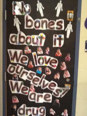 Mrs. Standridges' door