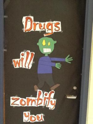 Mrs. Sue's door