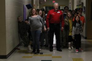 Elks Club Visit to 5th grade