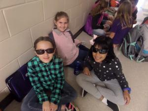 Shades Day:  Attendance makes us so bright we've got to wear our shades!