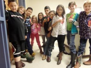Mrs. Standridge's class has some stylin' boots!