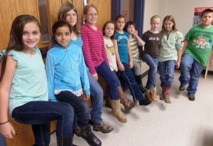 Mrs. Swofford's is going to use their boots to stomp out drugs!