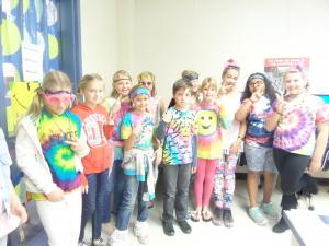 Hippie Day:  Be hip, stay all day...Everyday!
