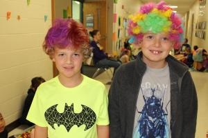 Wacky Hair Day: Be in class