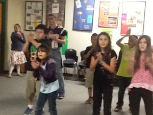 Dancing in music with the big cats!