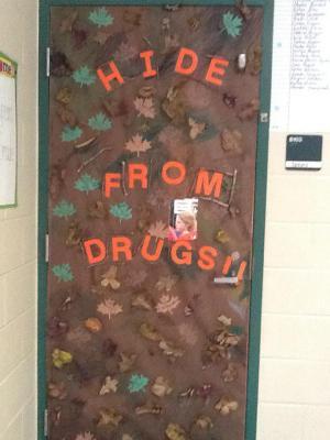 Mr. Spears' door