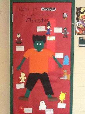 Ms. Gardners' door