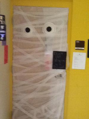 Mrs. Allen's door