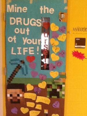 Mrs. Traylor's door