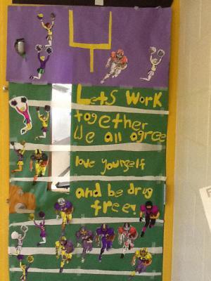 Mr. Wolf's door