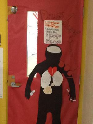 Mrs. O'Dell's door