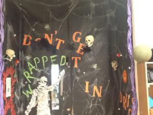 Mrs. Armstrong's door