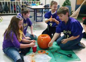 It's pumpkin science!