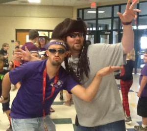 Go Mr. Wolf and Mr. Landon.  Strike a pose!