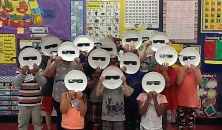 Kiindergarten READY for the eclipse!