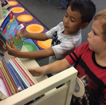 1st grade book selection