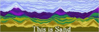 this is sand