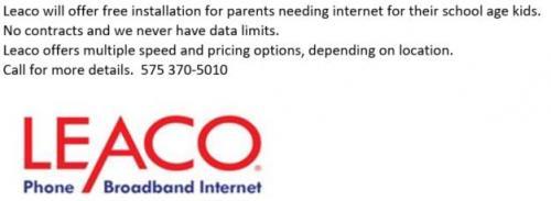 LEACO Internet Service