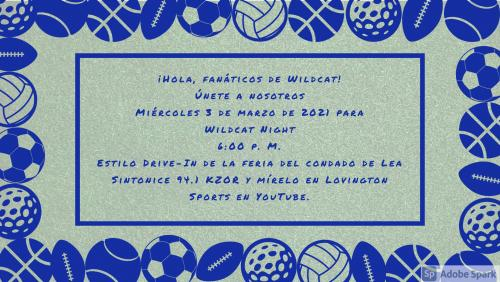 Wildcat Night Spanish