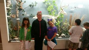 At the Osteology Museum in OKC