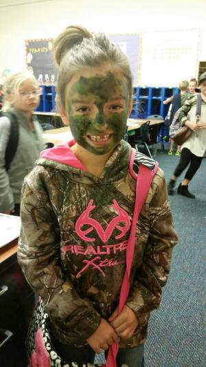 Camo Day Red Ribbon Week