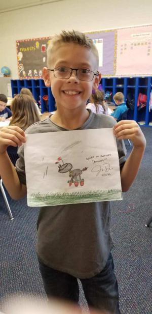 I have an artist!