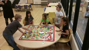 Candy Land at the library