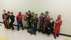 Boys that wore costumes