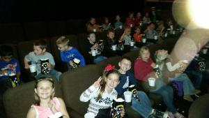 2nd 9 Weeks Goal Party at the movies!