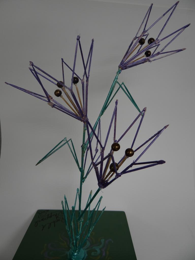 Toothpick Sculpture marlow public schools - toothpick sculpture