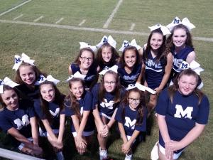 Marlow Middle School Cheer