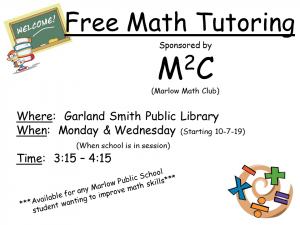 Tutoring at Garland Smith Library
