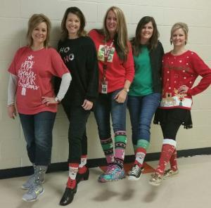 Deck the Halls with Christmas Cheer...... Christmas Sock Day