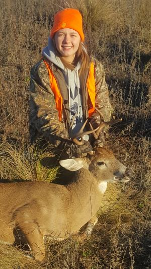 Blair's First Buck - Fall 2016
