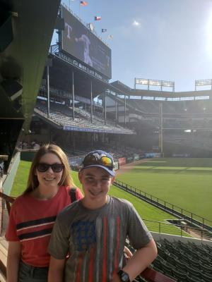 Last Trip To See Rangers @ Globe Life - 2019