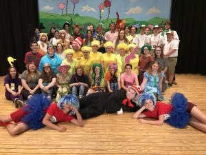 Dr Seuss children's theatre cast 2018