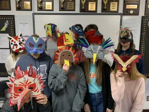 2019 Stagecraft mask project