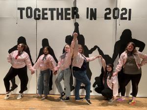 2021 MOST seniors at Showcase