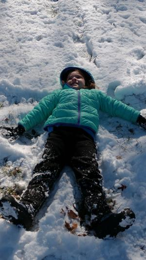 My Snow Angel!