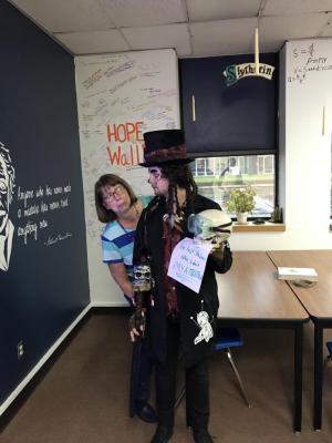 Halloween with Mr. Schooling 2018