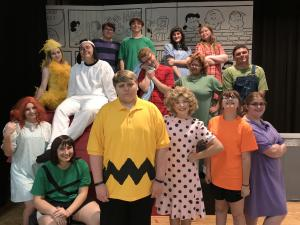 You're a Good Man, Charlie Brown cast 2018