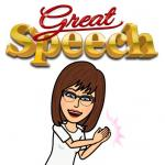 Bitmoji Great Speech